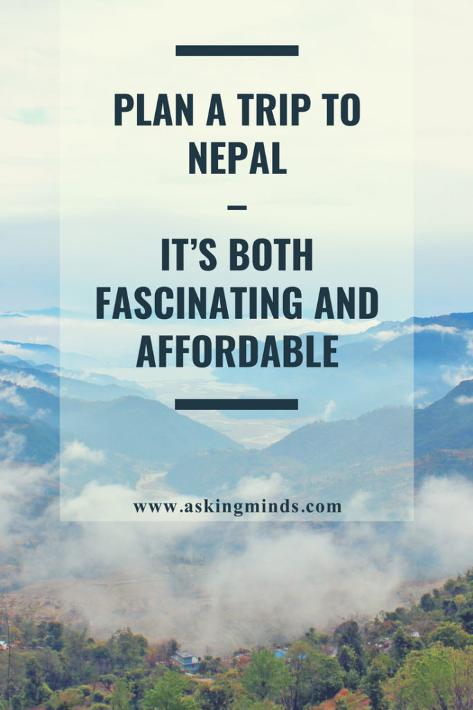 Plan a trip to Nepal – It's both fascinating and affordable - top travel destinations | beautiful places | world tour travel | nepal travel | culture | mount everest | trekking | adventure | beauty | heritage site | temples | wildlife | best places to travel in the world | must visit places in the world | historical places | kathmandu | lumbini - #blog #nepal #travel #pinoftheday